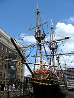 Golden Hind. Реплика в Саутварке