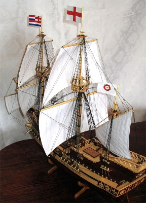 Галеон Golden Hind