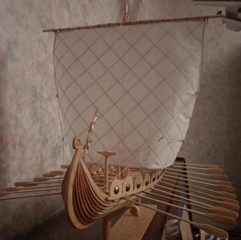 Все модели автора Валентин К. Автор(владелец). предыдущее фото.  Описание модели Драккар (корабль викингов).