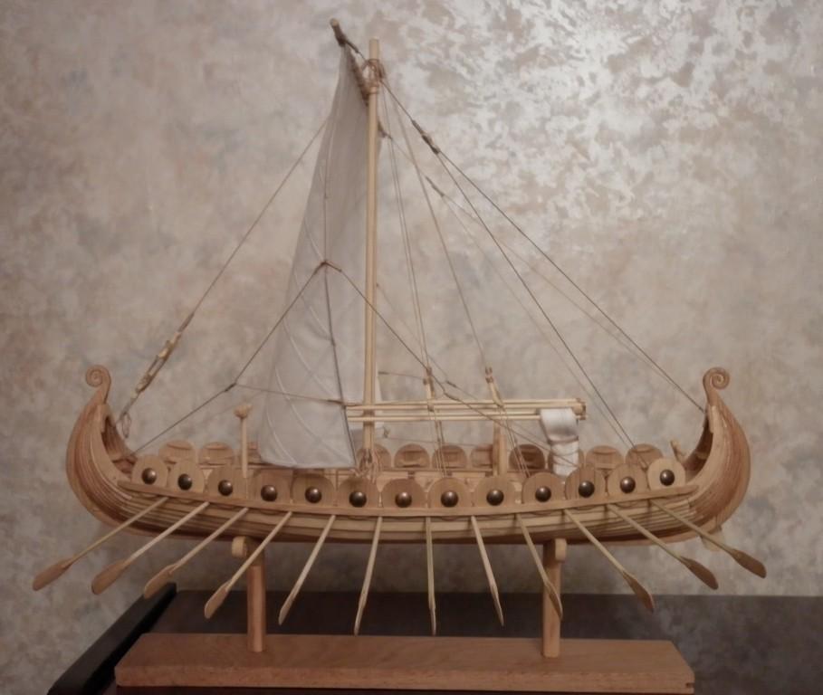 Модель корабля викингов своими руками