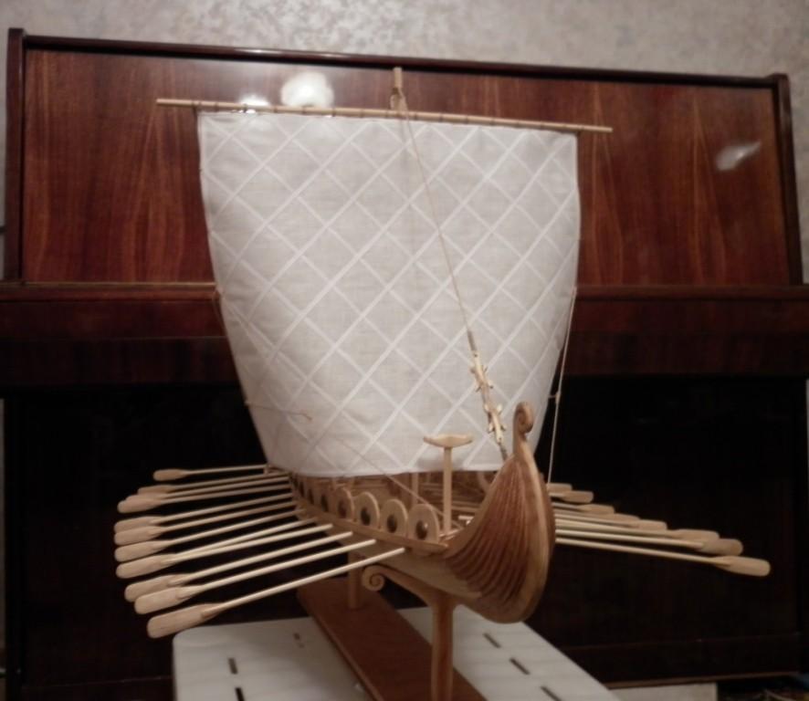 Для просмотра полного фото Драккар (корабль викингов) кликните по изображению.